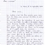 lettre correspondant 1